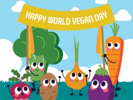 World Vegan Day - © freepik
